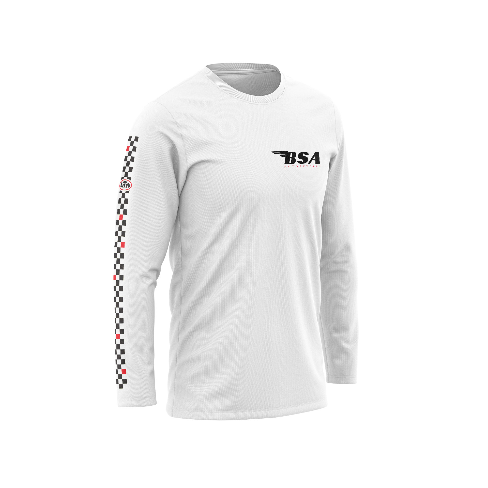 TSDLS BSA Blanc - Noir Rouge