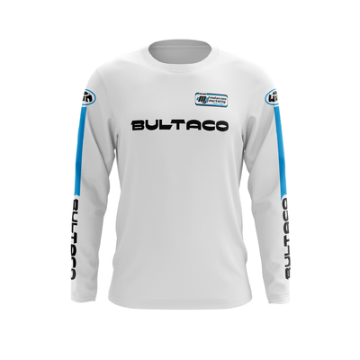 BULTACO White - Black Blue