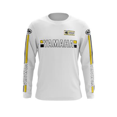 YAMAHA White - Yellow Black
