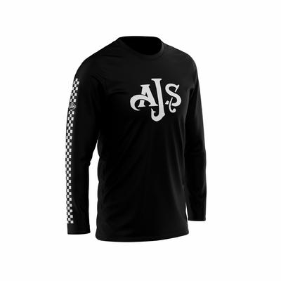 AJS Chest Black - White