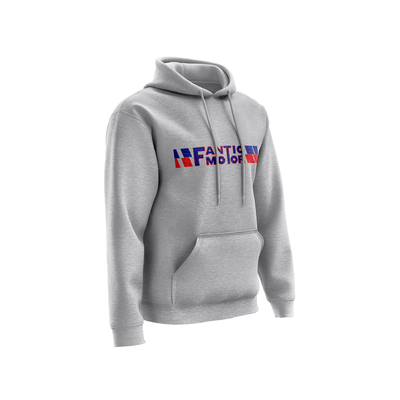 FANTIC Chest Heather Grey - Blue Red