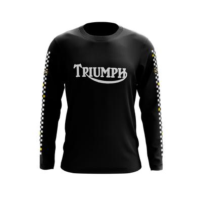 TRIUMPH Black - White Yellow
