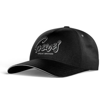 GREEVES Cap - Black / Grey