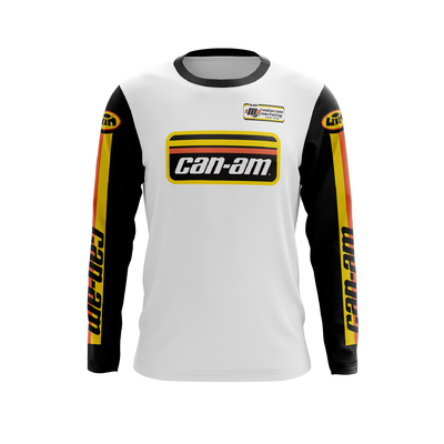CAN AM White Black