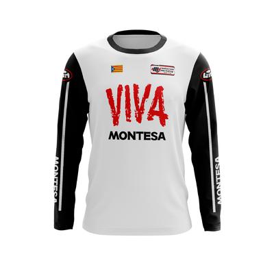 MONTESA Viva White Black - Red Black