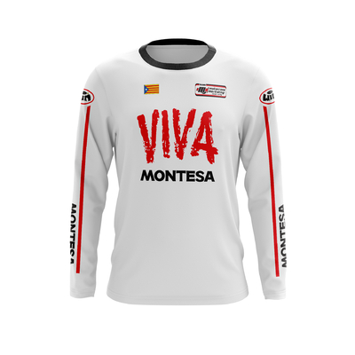 MONTESA Viva All white - Red Black