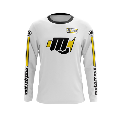 MXM Origin All White - Black Yellow