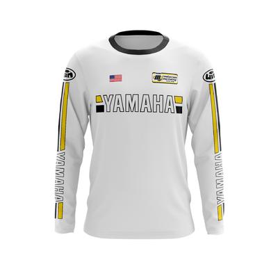 YAMAHA US All White - Yellow Black