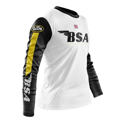 BSA White Black - Yellow