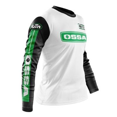 OSSA White Black - Green