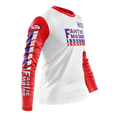 FANTIC White Red