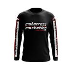 Maillot Trial MXM Team Noir Rouge Blanc Face
