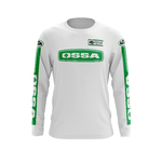 Maillot Trial OSSA Blanc Blanc Face