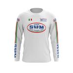 Maillot Trial SWM Blanc Italia Face