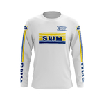 Maillot Trial SWM Blanc Pernod Face