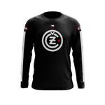 Maillot CZ Noir Logo Blanc Face
