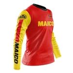Maillot MAICO Motocross Vintage Enduro Classic Profil