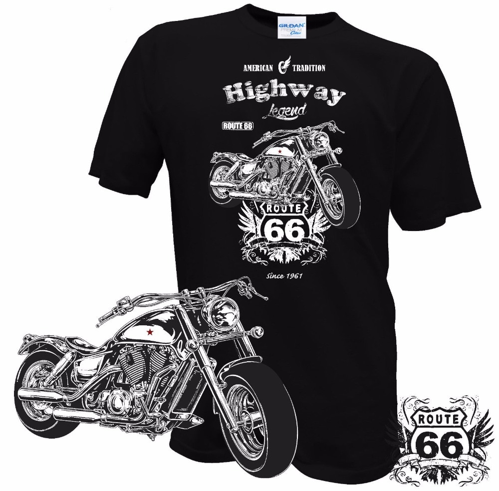 T-Shirt Highway Route 66