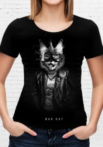 T-shirt Bad Cat