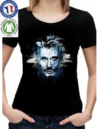 T-Shirt Coton Bio Johnny Hallyday