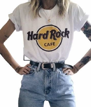 T-SHIRT HARD ROCK CAFE