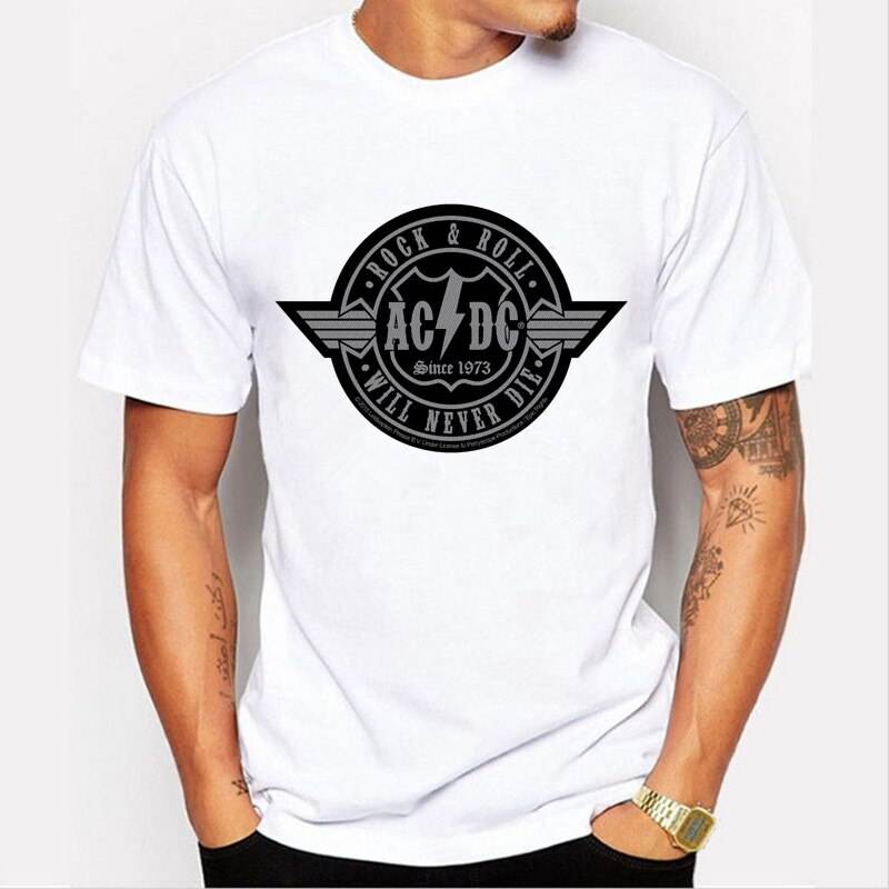 T-shirt AC/DC Evolution