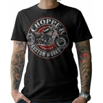 T-Shirt Esprit Motard Chopper Custom