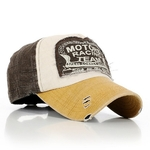 Casquette Motors Team Racing Esprit Motard