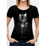 t-shirt esprit motard bad cat