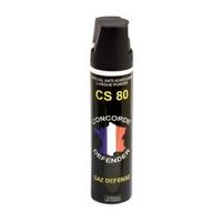 Bombe lacrymogène gaz cs 75 ml