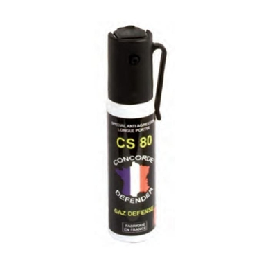 Bombe gaz lacrymogène 25 ml
