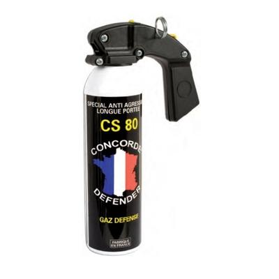 Bombe lacrymogène 500 ml gaz cs