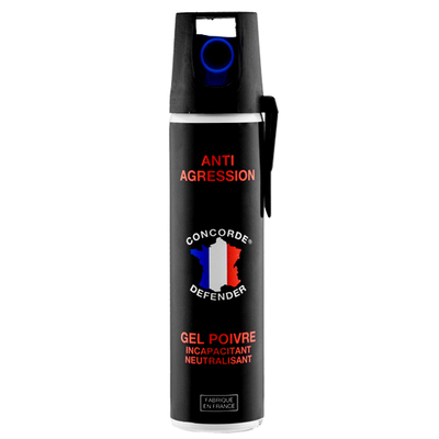 Bombe lacrymogène 75 ml gel poivre