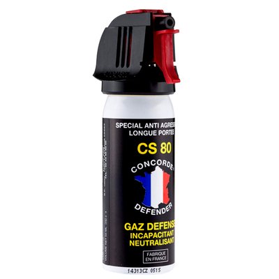 Bombe de défense 50 ml gaz cs