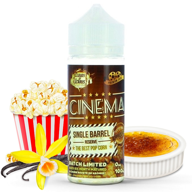 Cinema Reserve Clouds of Icarus 100 ml / Sans nicotine