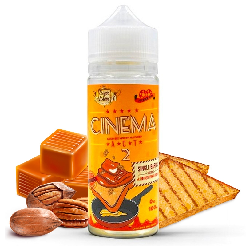 Cinema Reserve Act 2 Clouds of Icarus 100 ml / Sans nicotine