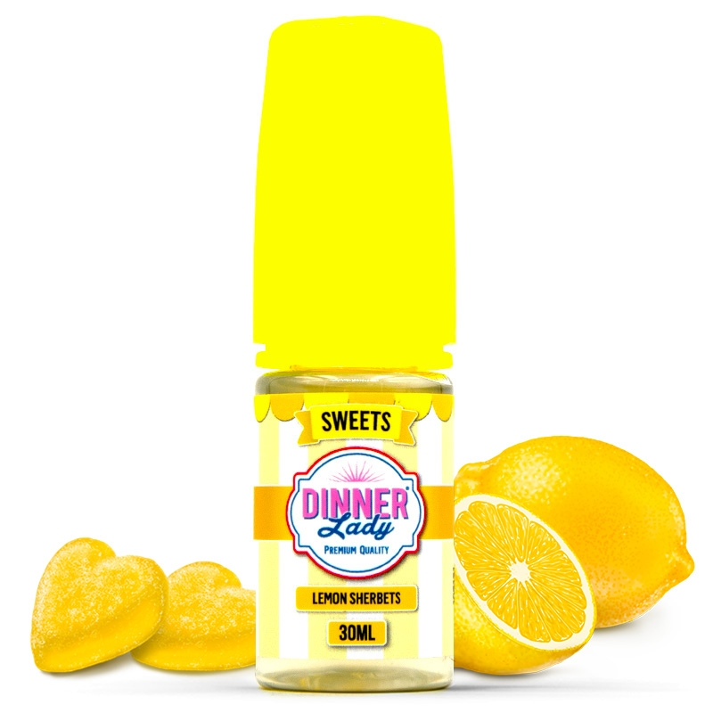 Concentré Lemon Sherbets Dinner Lady 30ml