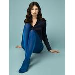 collant brillant épais bleu fiore glossy 60 deniers