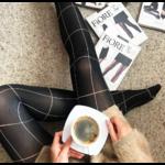 collant noir moderne 40 deniers