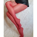 collant rouge gloss ROUGE MISSO