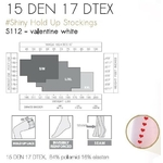Tableau taille s112 blanc