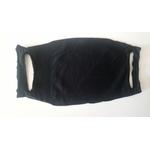 masque microfibre noir