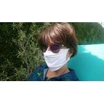 masque barriere blanc
