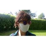 masque barriere gris microfibre