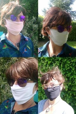 masque microfibre fiore