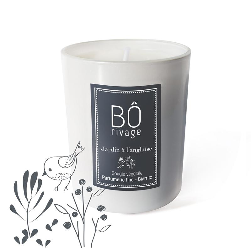 Bougie parfumée Jardin à l\'anglaise 160g