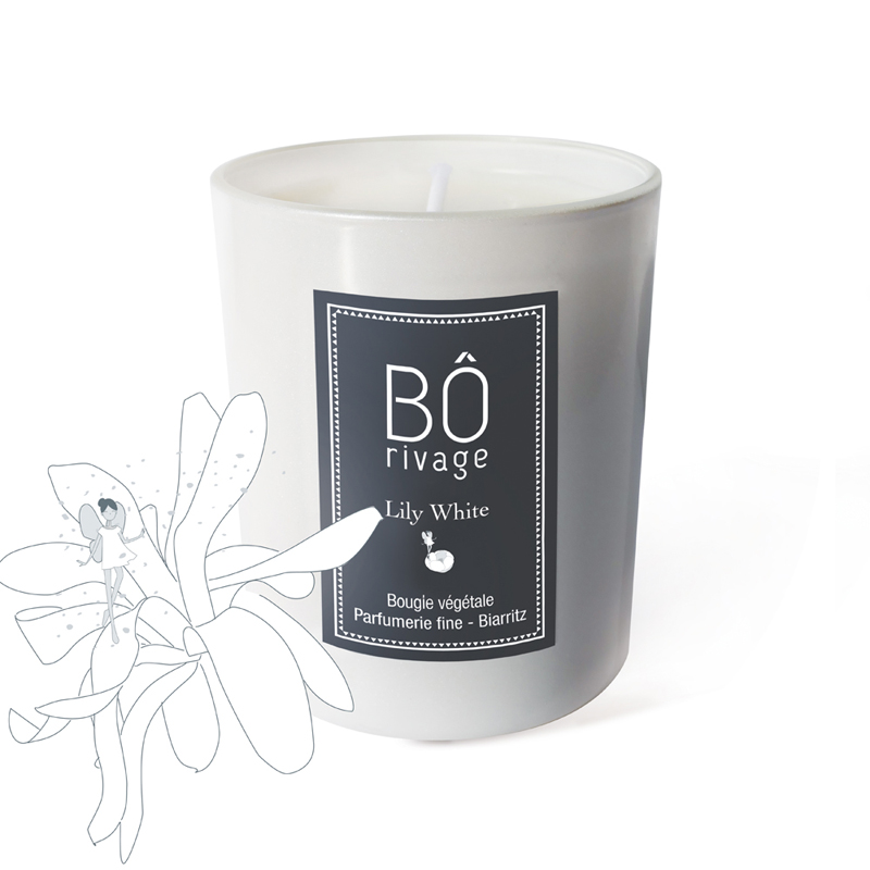 Bougie parfumée Lily White 160g