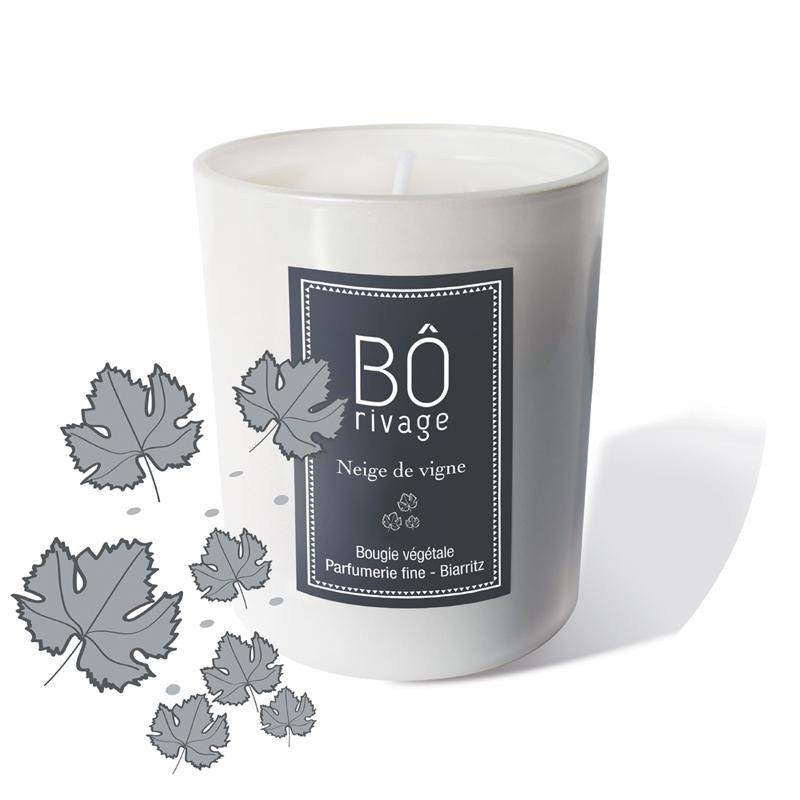 Bougie parfumée Neige de vigne 160g