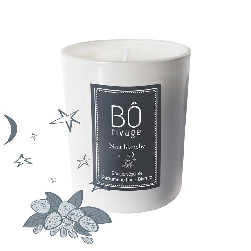 Bougie parfumée Nuit blanche 160g