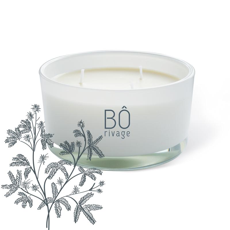 Bougie parfumée Mi Mo Sa Song 3 mèches 480g